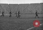 Image of First football game in 1927 at new Michigan Stadium Ann Arbor Michigan USA, 1927, second 39 stock footage video 65675052490
