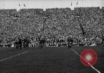 Image of First football game in 1927 at new Michigan Stadium Ann Arbor Michigan USA, 1927, second 40 stock footage video 65675052490