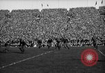 Image of First football game in 1927 at new Michigan Stadium Ann Arbor Michigan USA, 1927, second 41 stock footage video 65675052490