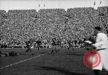 Image of First football game in 1927 at new Michigan Stadium Ann Arbor Michigan USA, 1927, second 42 stock footage video 65675052490