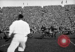 Image of First football game in 1927 at new Michigan Stadium Ann Arbor Michigan USA, 1927, second 43 stock footage video 65675052490
