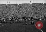 Image of First football game in 1927 at new Michigan Stadium Ann Arbor Michigan USA, 1927, second 45 stock footage video 65675052490