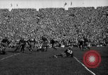Image of First football game in 1927 at new Michigan Stadium Ann Arbor Michigan USA, 1927, second 46 stock footage video 65675052490