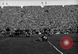 Image of First football game in 1927 at new Michigan Stadium Ann Arbor Michigan USA, 1927, second 47 stock footage video 65675052490