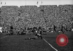 Image of First football game in 1927 at new Michigan Stadium Ann Arbor Michigan USA, 1927, second 48 stock footage video 65675052490