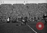 Image of First football game in 1927 at new Michigan Stadium Ann Arbor Michigan USA, 1927, second 49 stock footage video 65675052490