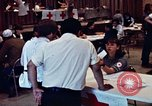 Image of Red Cross workers United States USA, 1972, second 9 stock footage video 65675052497
