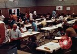 Image of Red Cross workers United States USA, 1972, second 45 stock footage video 65675052497
