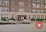 Image of Salvation Army shelter at Rapid City High School following flood Rapid City South Dakota USA, 1972, second 2 stock footage video 65675052512