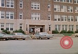Image of Salvation Army shelter at Rapid City High School following flood Rapid City South Dakota USA, 1972, second 4 stock footage video 65675052512