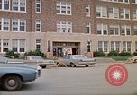 Image of Salvation Army shelter at Rapid City High School following flood Rapid City South Dakota USA, 1972, second 8 stock footage video 65675052512