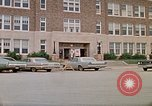 Image of Salvation Army shelter at Rapid City High School following flood Rapid City South Dakota USA, 1972, second 11 stock footage video 65675052512