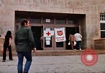 Image of Salvation Army shelter at Rapid City High School following flood Rapid City South Dakota USA, 1972, second 13 stock footage video 65675052512