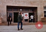 Image of Salvation Army shelter at Rapid City High School following flood Rapid City South Dakota USA, 1972, second 14 stock footage video 65675052512