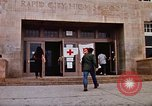 Image of Salvation Army shelter at Rapid City High School following flood Rapid City South Dakota USA, 1972, second 15 stock footage video 65675052512