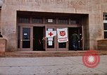 Image of Salvation Army shelter at Rapid City High School following flood Rapid City South Dakota USA, 1972, second 17 stock footage video 65675052512