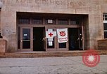 Image of Salvation Army shelter at Rapid City High School following flood Rapid City South Dakota USA, 1972, second 18 stock footage video 65675052512