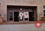 Image of Salvation Army shelter at Rapid City High School following flood Rapid City South Dakota USA, 1972, second 19 stock footage video 65675052512