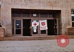 Image of Salvation Army shelter at Rapid City High School following flood Rapid City South Dakota USA, 1972, second 20 stock footage video 65675052512