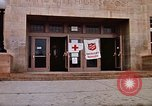 Image of Salvation Army shelter at Rapid City High School following flood Rapid City South Dakota USA, 1972, second 21 stock footage video 65675052512