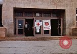 Image of Salvation Army shelter at Rapid City High School following flood Rapid City South Dakota USA, 1972, second 22 stock footage video 65675052512
