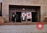 Image of Salvation Army shelter at Rapid City High School following flood Rapid City South Dakota USA, 1972, second 23 stock footage video 65675052512
