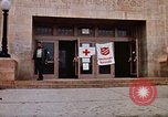 Image of Salvation Army shelter at Rapid City High School following flood Rapid City South Dakota USA, 1972, second 24 stock footage video 65675052512