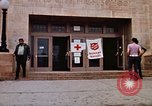 Image of Salvation Army shelter at Rapid City High School following flood Rapid City South Dakota USA, 1972, second 26 stock footage video 65675052512