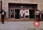 Image of Salvation Army shelter at Rapid City High School following flood Rapid City South Dakota USA, 1972, second 28 stock footage video 65675052512
