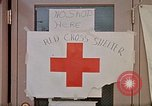 Image of Salvation Army shelter at Rapid City High School following flood Rapid City South Dakota USA, 1972, second 48 stock footage video 65675052512