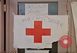Image of Salvation Army shelter at Rapid City High School following flood Rapid City South Dakota USA, 1972, second 49 stock footage video 65675052512