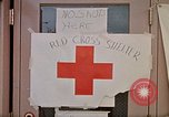 Image of Salvation Army shelter at Rapid City High School following flood Rapid City South Dakota USA, 1972, second 50 stock footage video 65675052512