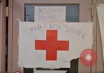 Image of Salvation Army shelter at Rapid City High School following flood Rapid City South Dakota USA, 1972, second 52 stock footage video 65675052512