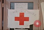 Image of Salvation Army shelter at Rapid City High School following flood Rapid City South Dakota USA, 1972, second 53 stock footage video 65675052512