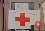 Image of Salvation Army shelter at Rapid City High School following flood Rapid City South Dakota USA, 1972, second 55 stock footage video 65675052512