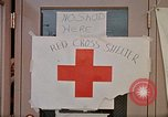 Image of Salvation Army shelter at Rapid City High School following flood Rapid City South Dakota USA, 1972, second 56 stock footage video 65675052512