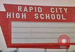 Image of Salvation Army shelter at Rapid City High School following flood Rapid City South Dakota USA, 1972, second 57 stock footage video 65675052512
