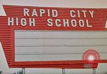 Image of Salvation Army shelter at Rapid City High School following flood Rapid City South Dakota USA, 1972, second 58 stock footage video 65675052512