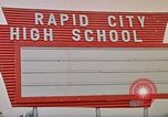 Image of Salvation Army shelter at Rapid City High School following flood Rapid City South Dakota USA, 1972, second 59 stock footage video 65675052512