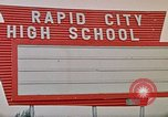 Image of Salvation Army shelter at Rapid City High School following flood Rapid City South Dakota USA, 1972, second 60 stock footage video 65675052512