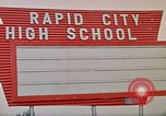 Image of Salvation Army shelter at Rapid City High School following flood Rapid City South Dakota USA, 1972, second 61 stock footage video 65675052512