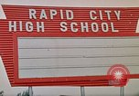 Image of Salvation Army shelter at Rapid City High School following flood Rapid City South Dakota USA, 1972, second 62 stock footage video 65675052512