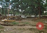 Image of wrecked trailer homes Rapid City South Dakota USA, 1972, second 2 stock footage video 65675052518