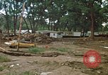 Image of wrecked trailer homes Rapid City South Dakota USA, 1972, second 4 stock footage video 65675052518