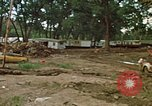 Image of wrecked trailer homes Rapid City South Dakota USA, 1972, second 6 stock footage video 65675052518