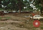 Image of wrecked trailer homes Rapid City South Dakota USA, 1972, second 8 stock footage video 65675052518