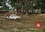Image of wrecked trailer homes Rapid City South Dakota USA, 1972, second 12 stock footage video 65675052518