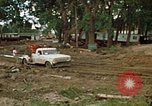 Image of wrecked trailer homes Rapid City South Dakota USA, 1972, second 13 stock footage video 65675052518