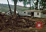 Image of wrecked trailer homes Rapid City South Dakota USA, 1972, second 14 stock footage video 65675052518
