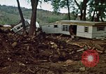 Image of wrecked trailer homes Rapid City South Dakota USA, 1972, second 16 stock footage video 65675052518